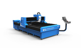 Horizontal laser cutting machine